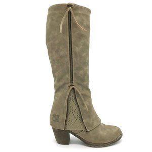 Muk Luks Zip Lacy Boot 7